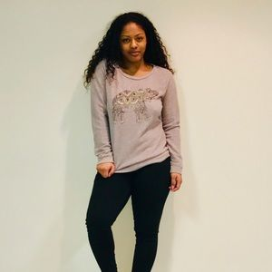 Lucky Lotus by Lucky Brand | soft knit sweatshirt